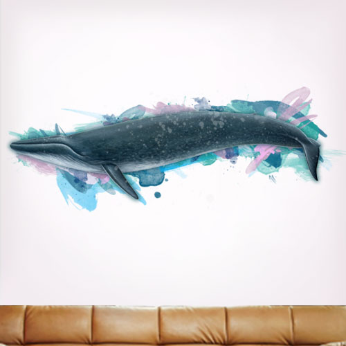 Artsy Blue Whale