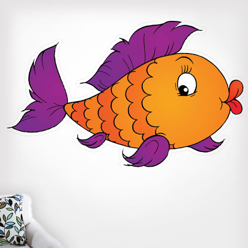 View Product Fish 1 Wall Decal