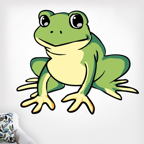 View Product Frog Wall Decal