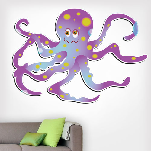 View Product Octopus Wall Decal