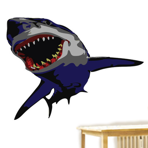 View Product Shark Wall Decal