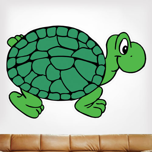 Turtle 1 Wall Decal