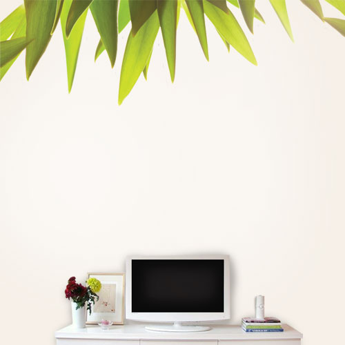 View Product Leaf Border Wall Decal