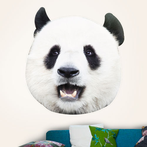 View Product Panda Mugshots Wall Decal