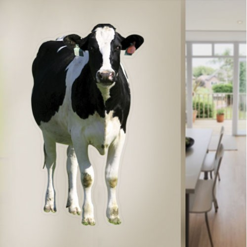 View Product Dairy Cow Wall Decal