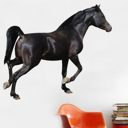 View Product Black Horse Wall Decal