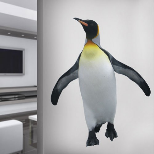 Emperor Penguin Wall Decal