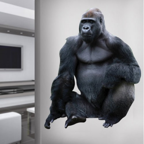 View Product Western Lowland Gorilla Wall Decal
