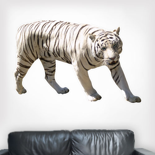 View Product White Tiger Wall Decal