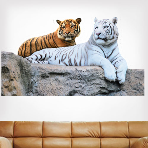 View Product Tigers Wall Decal