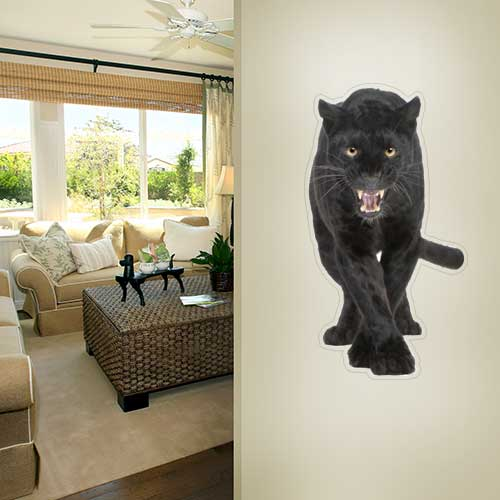 View Product Panther Roaring Wall Decal
