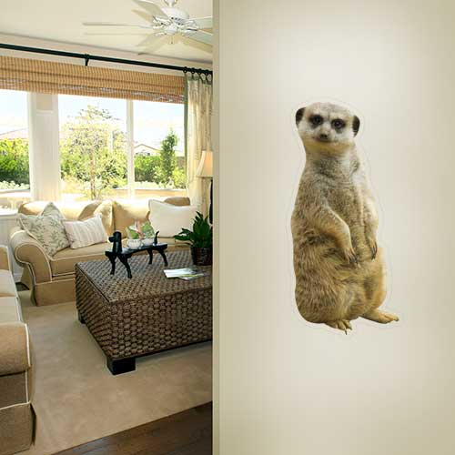 View Product Meerkat Wall Decal