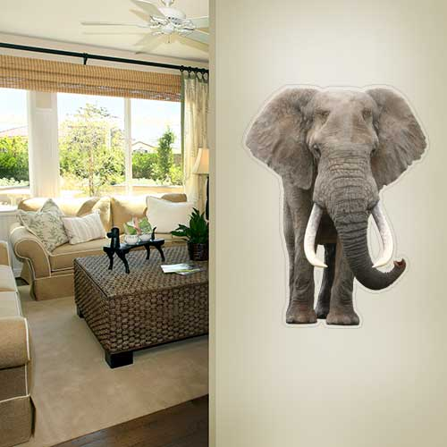 View Product Elephant Wall Decal