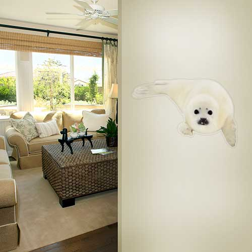 View Product Seal Pup Wall Decal