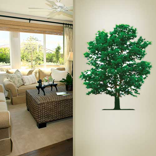 View Product Tree Wall Decal