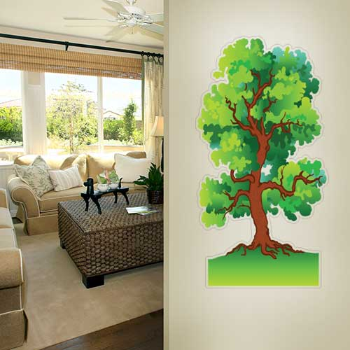 View Product Tree 2 Wall Decal