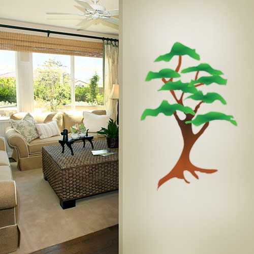 View Product Tree 5 Wall Decal