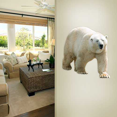 View Product Polar Bear 2 Wall Decal