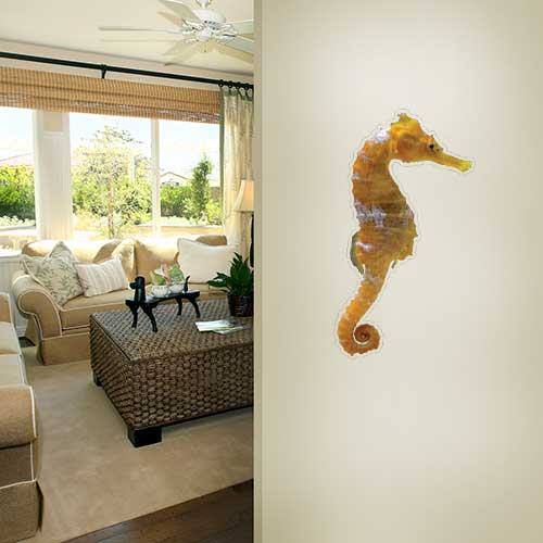 View Product Sea Horse Wall Decal