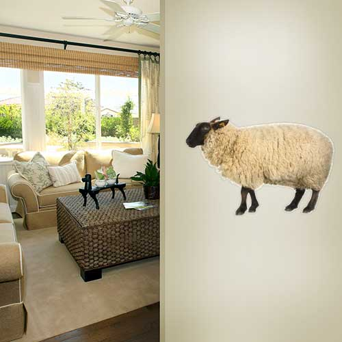View Product Sheep Wall Decal