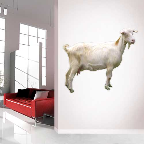 View Product Goat Wall Decal