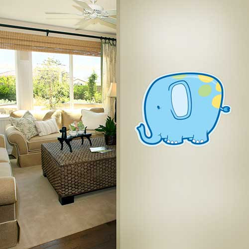 View Product Silly Elephant Wall Decal
