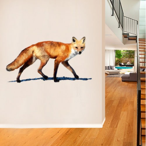 Fox Painted