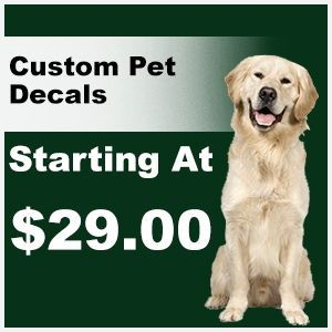 Make Your Own Custom Pet Decal